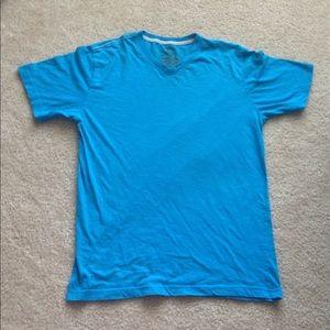 Blue men's t shirt